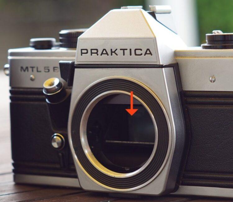 一眼レフカメラとレンジファインダーカメラの違い 画像