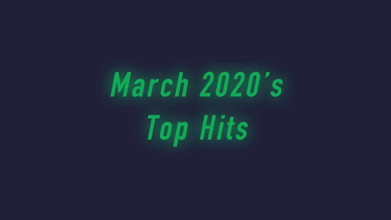 ヒット曲 2020年 3月 画像