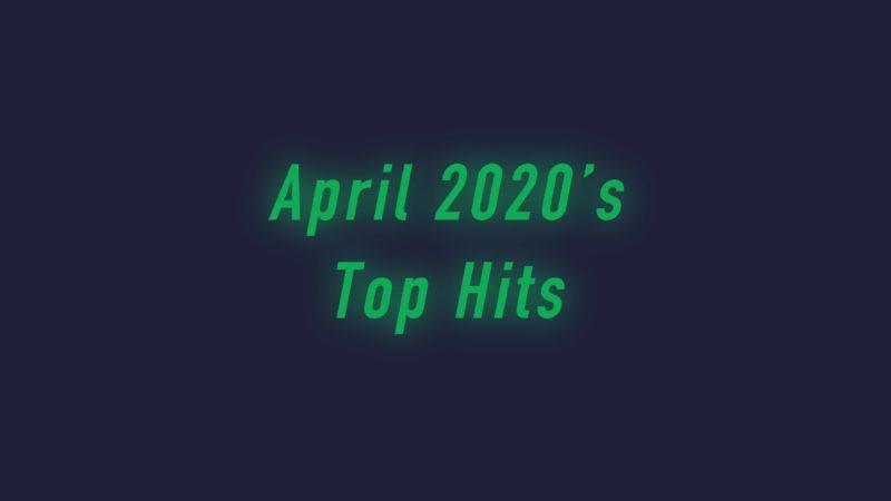 ヒット曲 2020年 4月 画像