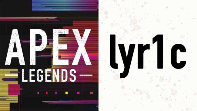 APEX lyr1c リリック 画像